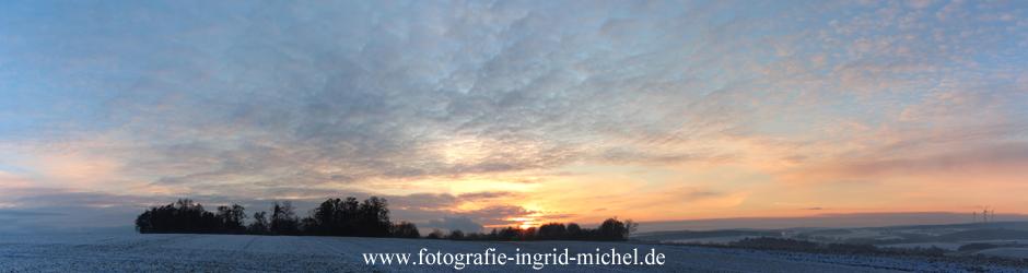 Sonnenuntergang auf der Igelsheide